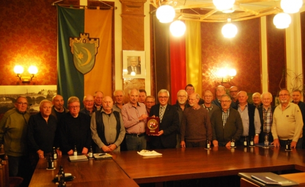Innenminister Roger Lewentz besucht die Chorprobe