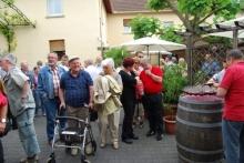 Ankuft im Weingut