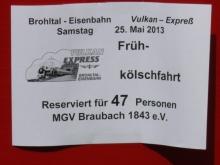 """Willkommen im Brohltal"" Familienfest des MGV Braubach 1843 e.V."