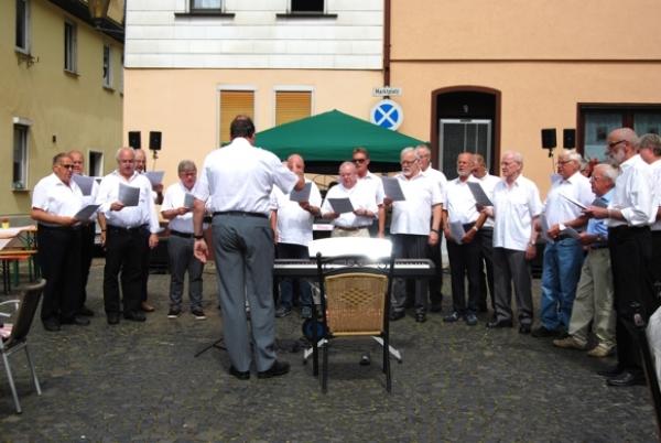 Sommerfest MGV Braubach 1843 e.V. 2016