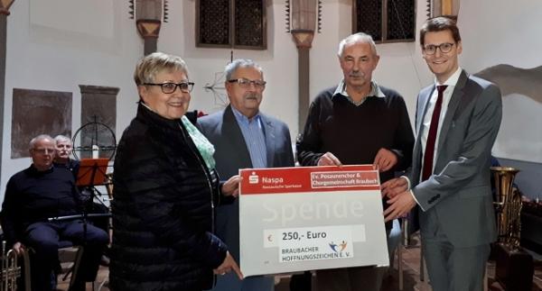 Spende an Braubacher Hoffnungszeichen