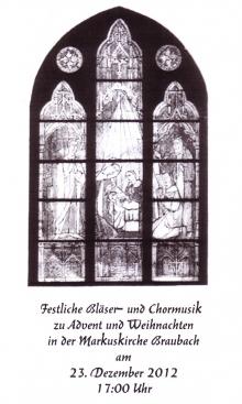 Festliche Bläser-und Chormusik