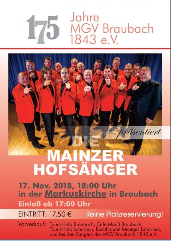 Mainzer Hofsänger in Braubach